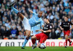 Manchester City v Reading Vincent Kompany