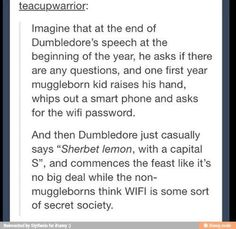 Wi fi in Hogwarts