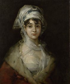 Francisco José de Goya y Lucientes (1746–1828), Portrait of the Actress Antonia Zárate, c 1810–11 © State Hermitage Museum, St Petersburg