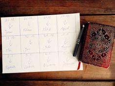 Jeder der 12 Rauhnächte steht für einen Monat im Kalender.