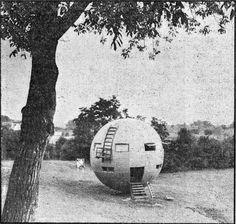 "Vienna/AustriaA spherical ""micro-nation"" in the heart of Vienna."