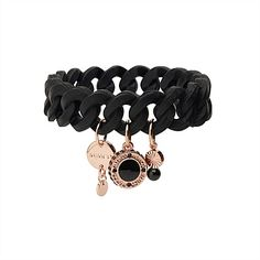 Sporto Stretch Wrist - once again classic black never fails.love the sport luxe twist Mimco Pouch, Jewelry Accessories, Women Jewelry, Sports Luxe, Bangles, Bracelets, Girly Things, Girly Stuff, Jewelery