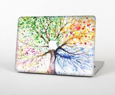 """The WaterColor Vivid Tree Skin for the Apple MacBook Pro 15"""""""