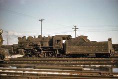Pennsylvania Railroad G5s Class #1820 in Camden, New Jersey on November 7, 1953.