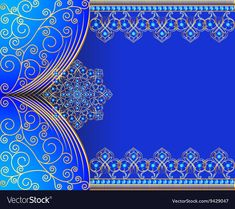 Vintage background frame with gold pattern vector image on VectorStock Black Background Wallpaper, Background Vintage, Background Patterns, Textured Background, Vintage Backgrounds, Persian Architecture, Art And Architecture, Silhouette Cameo Free, Wall Mural Decals