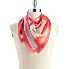 VINCE CAMUTO Colorblock Fashion Scarf $29