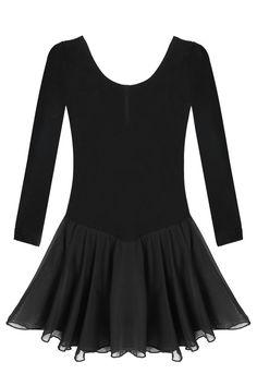 $12 Arshiner Girls'Cute Sweet Dancing Ballet Dress Long Sleeve Leotard