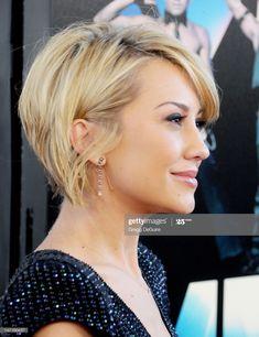 News Photo : Actress Chelsea Kane arrives at the 2012 Los... Short Hair With Layers, Short Hair Cuts, Short Hair Styles, Short Bob Hairstyles, Hair Today, Hair Dos, New Hair, Hair Inspiration, Hair Makeup