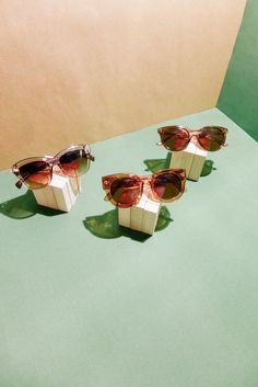 the Arizona, the Elsa, the Inez | get them at your favourite Sunnies Stations #sunniesstudios