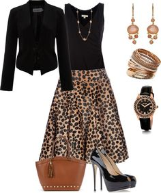 """""""At the Office"""" by doris610 on Polyvore"""