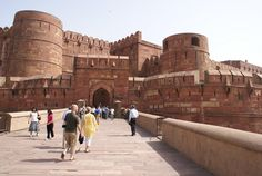 Agra Fort, Agra, India.