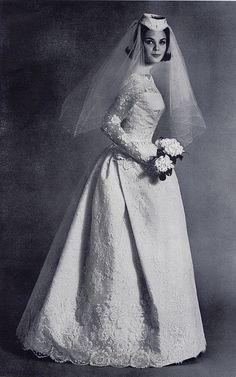 1960s lace bride | Flickr