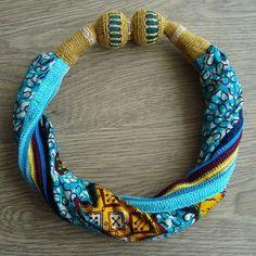 ganchillo joyas de tela