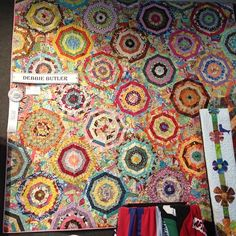 WOW! What a spiderweb quilt! by Darci - Stitches, via Flickr