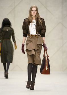 Burberry Prorsum FW 2012 - Town and Field