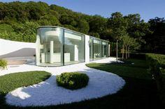 Glashaus Schweiz-moderne Architektur