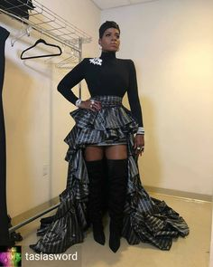👉 Fashion Swa Star Fashion, Runway Fashion, Fashion Outfits, Black Girls Rock, Black Girl Magic, Beautiful Gorgeous, Most Beautiful Women, Fantasia Barrino, High Class Fashion