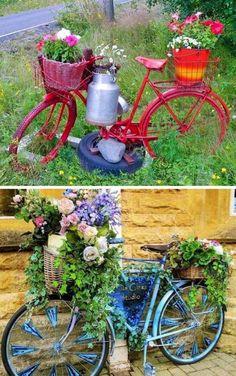 Inšpirujte sa týmito nápadmi na nízkonákladové kvetináče do vašej záhrady. Nemusíte si kupovať drahé kvetináče. Stačí použiť rôzne staré predmety, ktoré sa dajú využiť do záhrady. Takéto riešenia sú jedinečné a zaujímavé.