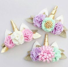 Discover recipes, home ideas, style inspiration and other ideas to try. Unicorn Headband, Unicorn Hair, Diy Headband, Baby Headbands, Diy Hair Bows, Diy Bow, Unicorn Birthday Parties, Unicorn Party, Diy And Crafts