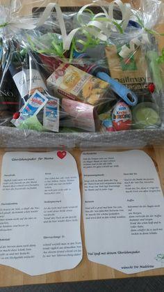 Überlebenspaket für frischgebackenen Eltern #Geschenk