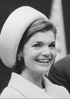 There was a hat for every occasion in the 50s. Hats came in all shapes and sizes. In the photo is Jackie Kennedy wearing a pillbox hat.