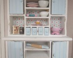 miniature shabby kitchen - Google Search