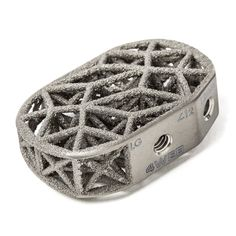 4WEB Medical Announces That Their 3,000th 3D Printed Spine Truss Implant is in use http://3dprint.com/24559/4web-3d-print-spine-implants/