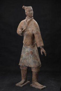 Qin Dynasty, Terracotta Army, Archer, Metropolitan Museum, Warriors, China, Statue, Art, Sterling Archer