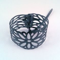 Hey, I found this really awesome Etsy listing at https://www.etsy.com/listing/168244208/bicycle-inner-tube-cuff-bracelet-w