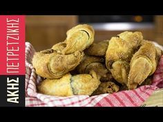 Speedy croissants by Greek chef Akis Petretzikis. Make the easiest, flakiest croissants with rich hazelnut chocolate praline filling that will drive you wild! Chef Recipes, Greek Recipes, Cooking Recipes, Crepes And Waffles, Pancakes, Crescent Rolls, Croissants, Cooking Time, Cooking Stuff