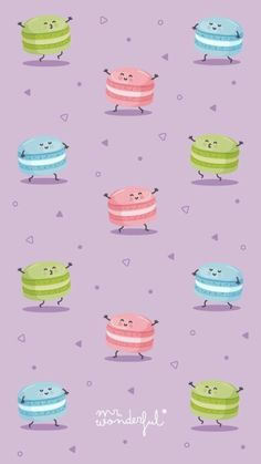 Wonderful wallpapers that you want to put on all your devices - Michelle Gaines Cute Wallpaper Backgrounds, Wallpaper Iphone Cute, Cellphone Wallpaper, Funny Wallpapers, Screen Wallpaper, Cool Wallpaper, Pattern Wallpaper, Macaron Wallpaper, Cupcakes Wallpaper