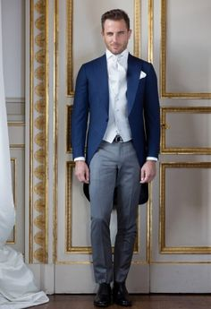 Tailored suits and jackets, the true Made in Italy by Sartoria Rossi – Tailor Made - Care for details Morning Coat, Morning Dress, Dapper Gentleman, Gentleman Style, Wedding Men, Wedding Suits, Wedding Attire, Wedding Groom, Gatsby Wedding