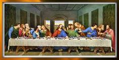 'The Restored Last Supper' by Leonardo da Vinci Painting Print on Canvas Big Box Art Size: H x W The Last Supper Painting, Painting Prints, Canvas Prints, Painting Art, Design Your Own Poster, Picasso Paintings, Christmas Wall Art, Custom Posters, Graphic Art