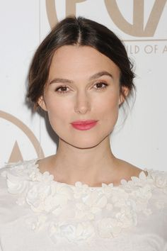 Her dreamy and romantic look, fit for a mother-to-be. To see more go to: http://www.graziadaily.co.uk/2015/02/keira-knightley-hairvolution#.VNo3k1JF0dU