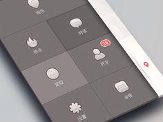 Side menu ( - menu app interface by. Web Design, Flat Design, Graphic Design, Free Dating Sites, Online Dating, Bleach Online, Mobile App Design, Mobile Ui, Dating Girls