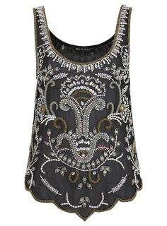 Pretty embellished tank