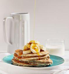 Banana Oat #pancakes #breakfast #banana