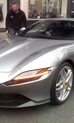 Ferrari Roma 2020 Luxury Cars, Classic Cars, Sports Car, Best Luxury Suv and Exotic Cars Audi, Porsche, Fancy Cars, Cool Cars, Rolls Royce, Maserati, Bugatti, Bmw Autos, Top Luxury Cars