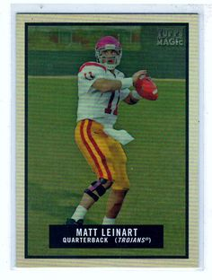 Sports Cards Football - 2009 Topps Magic Matt Leinart