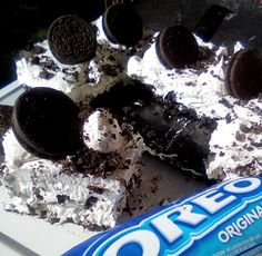 Τούρτα oreo !!! ~ ΜΑΓΕΙΡΙΚΗ ΚΑΙ ΣΥΝΤΑΓΕΣ 2 Cake Recipes, Dessert Recipes, Desserts, Yams, Greek Recipes, Oreo, Sweets, Cookies, Chocolate