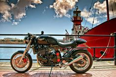TRIUMPH THUNDERBIRD CAFE RACER - TAIMOSHAN CYCLE WORKS - GREASE N GASOLINE