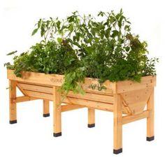 Wooden Raised Garden Table-Medium