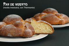 Pan de muerto - MisThermorecetas Nutella, Thermomix Bread, Food N, Tex Mex, French Toast, Breakfast, Blog, Samhain, Shape