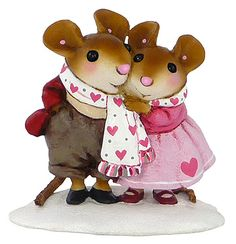Valentine Love these and have a few!! Wee Forest Folk