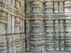 Konark Sun Temple Carvings