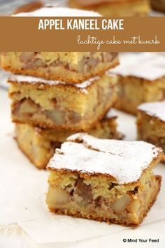 Apple Recipes, Sweet Recipes, Baking Recipes, Cake Recipes, Dessert Recipes, Food Cakes, Cupcake Cakes, Apple Cinnamon Cake, Apple Cake