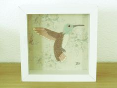 Hummingbird by HippoliciousDesigns on Etsy, €30,00