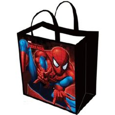 Spiderman Large Tote Bag Marvel Comics Hero
