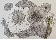 #surfacepatterndesign #surface  #surfacedesign #texture #final #doodle #instadoodle #instamood #insta #floral #detail #blackandwhite #bnw #penwork #penart #lines #detail #detailsmatter #thisiswhatido #thisishowidoit #quirkyouup #qyu #surfacepatterndesign #pattern #doodleart #artsy