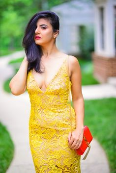 7 Best Yellow Lace Dress images in 2016 | Yellow lace